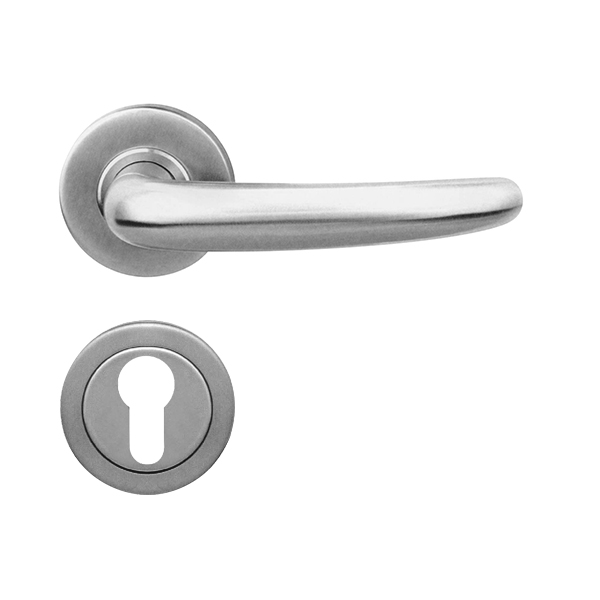 Resilient LC 30 Solid Stainless Steel Lever Handle