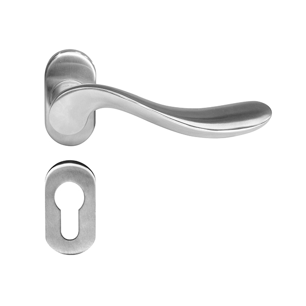 Resilient LC 34 OV Solid Stainless Steel Lever Handle