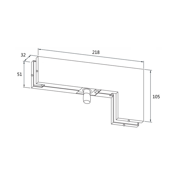 HARDEE HT40 Overpanel and side patch with pivot