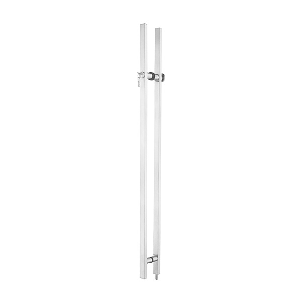 HARDEE PH181 Stainless Steel Pull Handle With Lock And Thumbturn