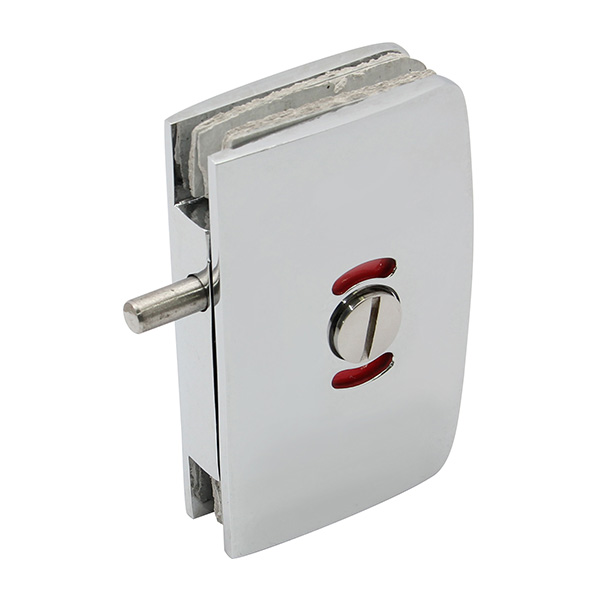 HARDEE RL041 Glass Door Lock With Emergency Coin Release And Indicator