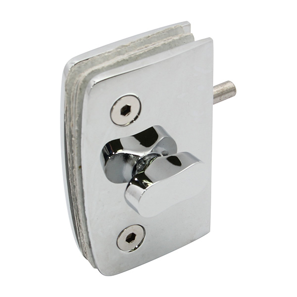 HARDEE RL042 Glass Door Lock With Emergency Coin Release And Indicator back