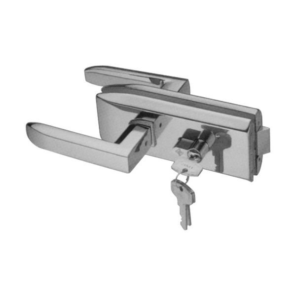 HARDEE RL311 Glass Door Lock With Lever Handle