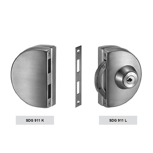 HARDEE SDG 911 Clamp Type Glass Door Lock