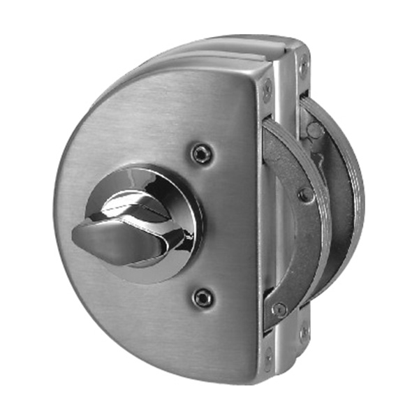 HARDEE SDG 912 Clamp type glass door lock back