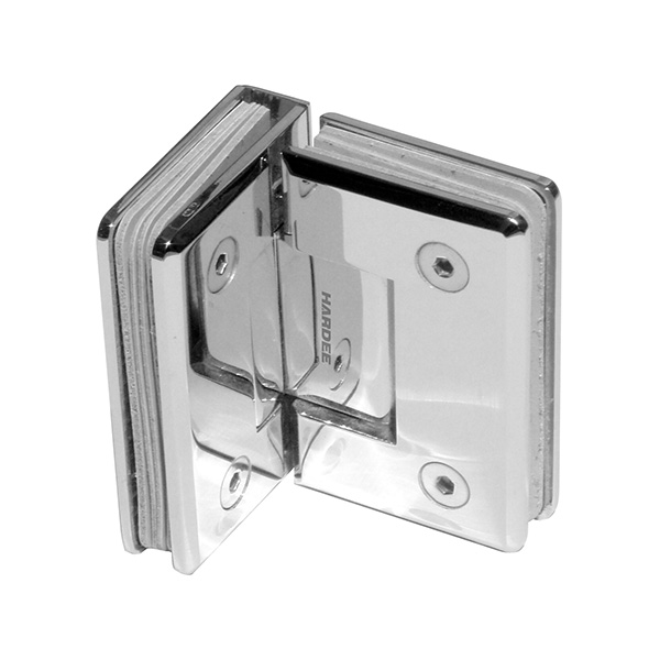 HARDEE SDH 102-90 90˚Glass To Glass Shower Hinge