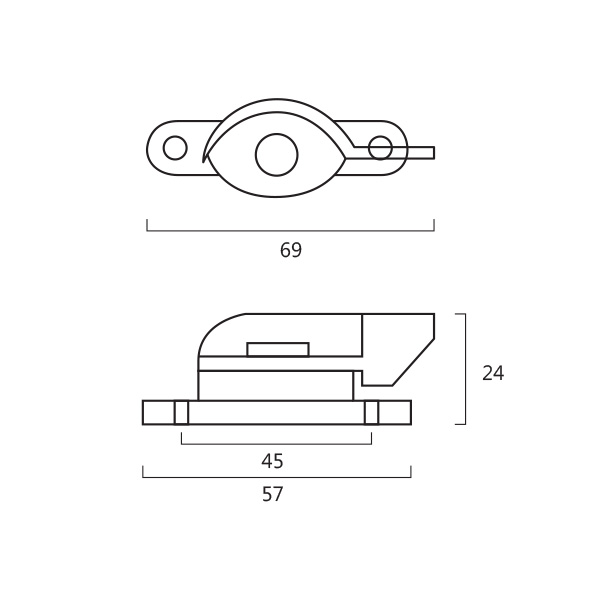 Dekko 005 S Crescent Fastener Technical