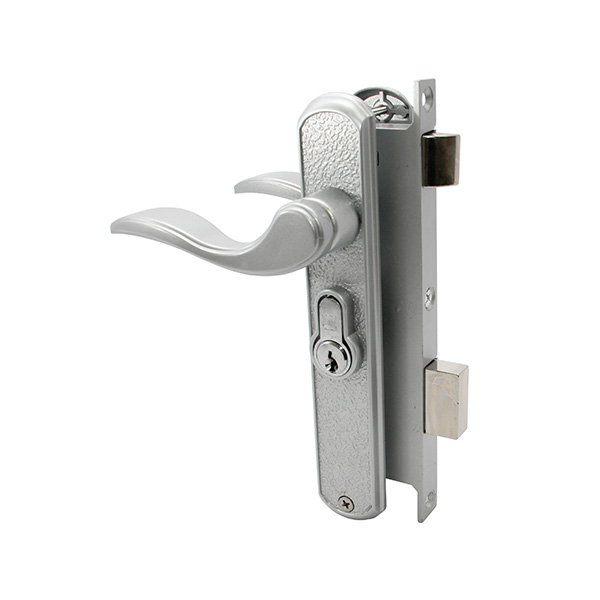 DLC B 517 Mortise Lever Lockset with Backplate
