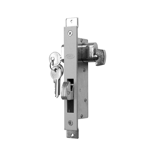 Lokey 41055 DC / TT Hook Lock with Single / Double Cylinder