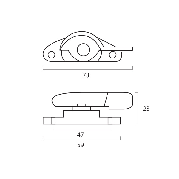 Resilient DC 309 Crescent Fastener Technical