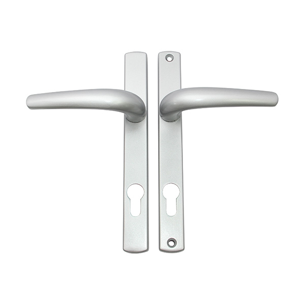Resilient LB 907 Lever Handle with Backplate