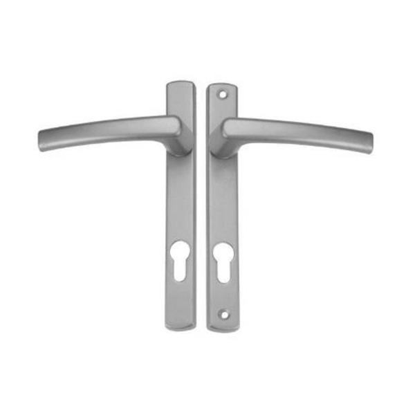 Resilient LB 910 Lever Handle with Backplate