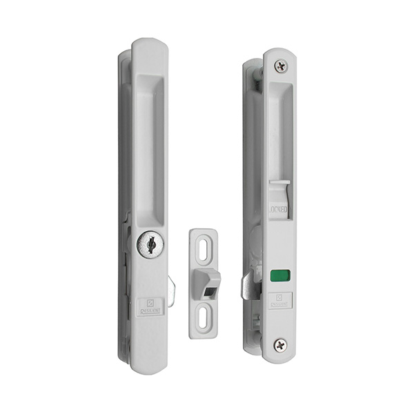 Resilient SFL 02 K Sliding Door Indicator Flush Lock With Key