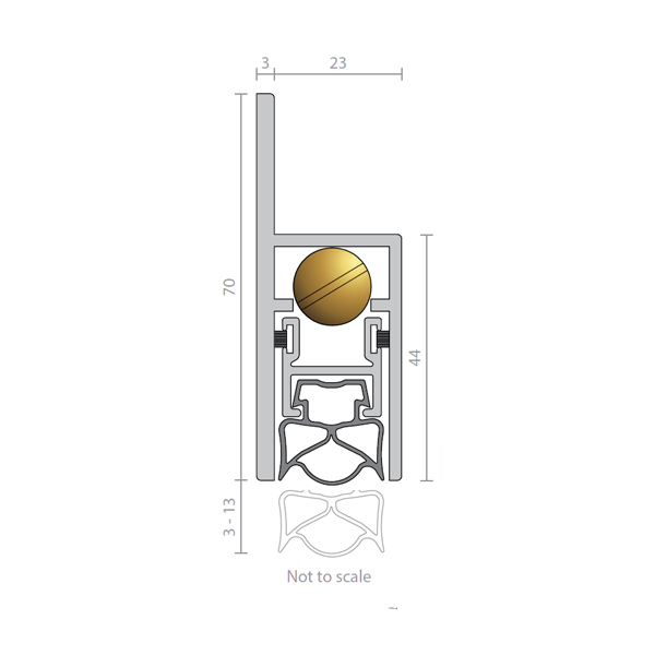 raven-rp38si-automatic-door-bottom-seals-t